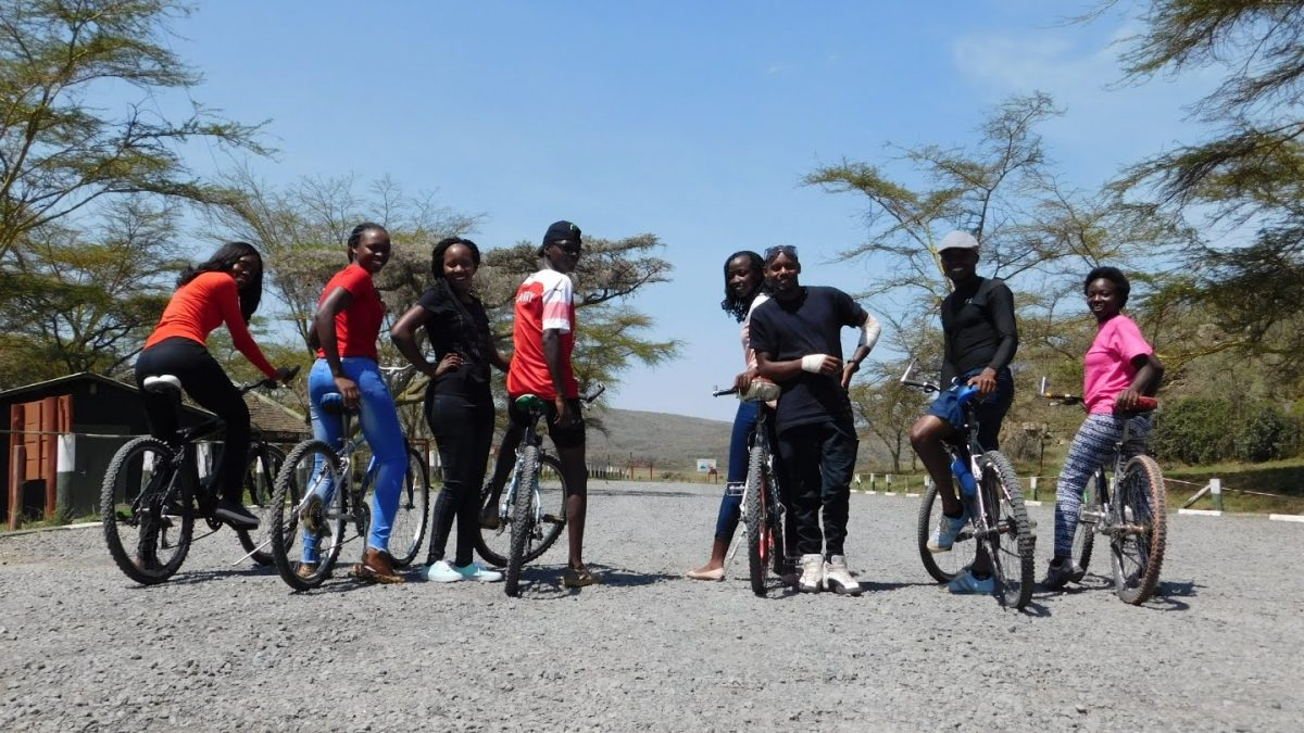 Cycling in and around Nairobi with Hired bikes